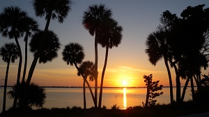 Sunset over the Indian River